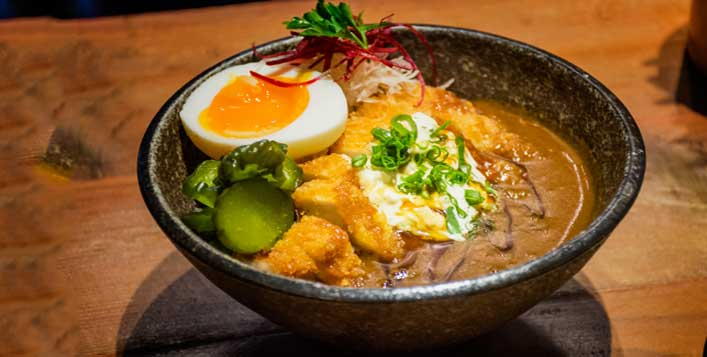 Atisuto is a ramen restaurant in Dubai