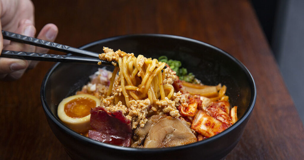 Daikan serves the delicious ramen