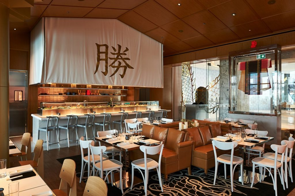 Katsuya by Starck is an eatery in Dubai