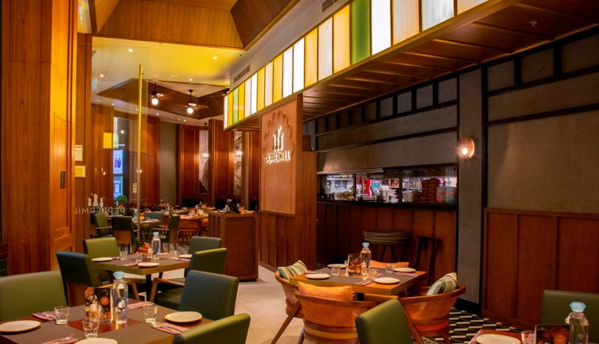 Peppermill is a famous eatery in Dubai