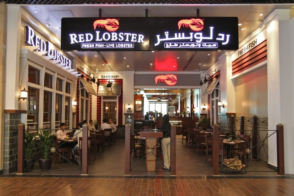 Red Lobster is the best restaurant in The Dubai Mall