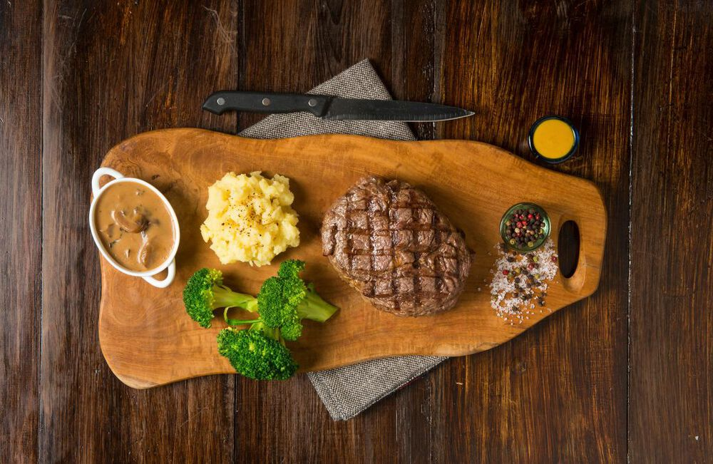 The Butcher Shop & Grill is a steakhouse in Dubai