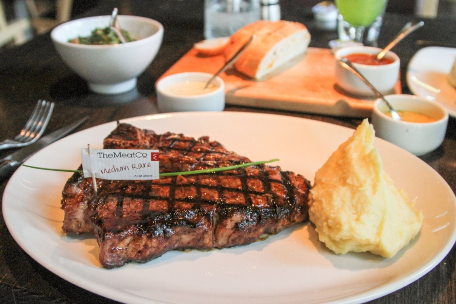 The Meat Co. is a steakhouse in Dubai