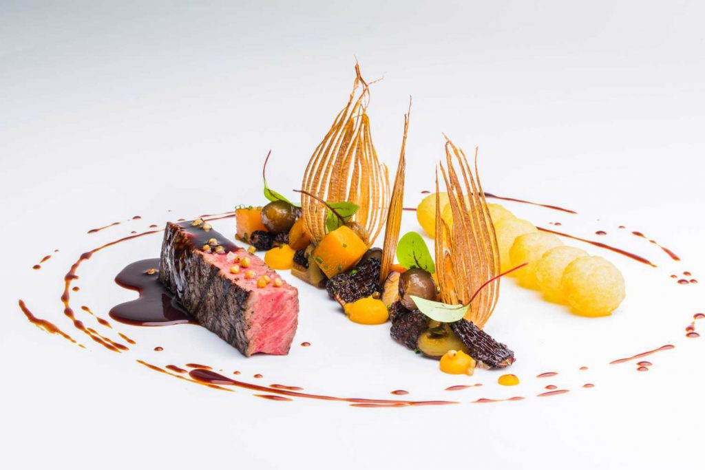 Ossiano is an eatery in Dubai