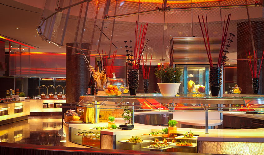 Saffron offers the best buffet in Dubai
